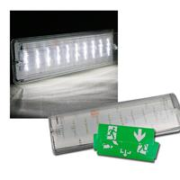 "Fluchtwegleuchte ""NL-W1"" 30 LED, Wandmontage, IP65"
