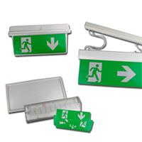Emergency exit light| wall/ceiling mounting | indoor/outdoor