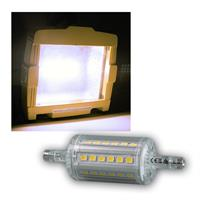 LED Strahler R7s SMD5-NW, 360° 420lm daylight 78mm