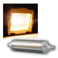 LED Strahler R7s SMD9-WW 360° 720lm warmweiß 118mm