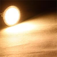 MR16 LED Strahler mit 2835 SMD LEDs und 400 Lumen Lichtstrom