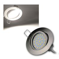 LED Einbauleuchte | Flat-26 | daylight | 350lm | Edelstahl