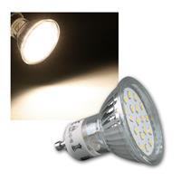 "LED Strahler GU10 ""H40 SMD"" 120° 300lm daylight 3W"