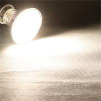 LED Leuchtmittel mit 300lm Lichtstrom und großem 120° Abstrahlwinkel