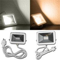 LED Fluter der CTF-SL Serie leuchtet neutralweiß oder warmweiß