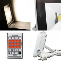 Der 30W LED Fluter ist auch mit Bewegungsmelder erhältlich