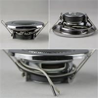 Metall-Lautsprecher mit Spannfedern zur kinderleichten Einbau