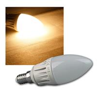 LED Kerzenlampe | E14 | warmweiß | 510lm | dimmbar | 6W