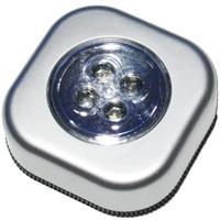 Touch-Leuchte mit 4 superhellen, weißen LEDs