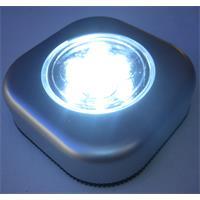 LED-Clickleuchte mit weiß-leuchtenden 5mm LEDs