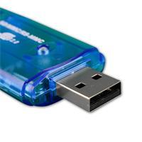 Card Reader für SD / SDHC / MMC / oder RS-MMC Speicherkarten