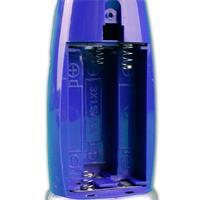 wird mit 3x AA Batterien betrieben, im Lieferumfang