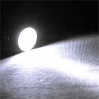 kleine Taschenlampe mit superhellen, weit strahlenden weißen Licht