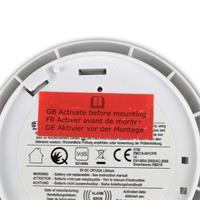 Warnmelder bei zu schwacher Batterie