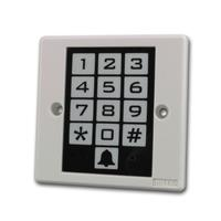 Keypad for locks and alarm systems keyboard