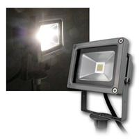 LED garden light | gray | 10W | daylight | 850lm | 230V IP44