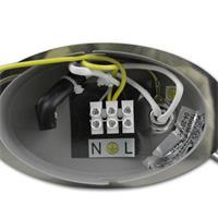 LED Wandstrahler mit Energie-Effizienzklasse A+, Betriebsspannung 230V