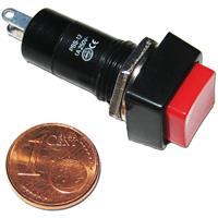 Druckschalter mit einer Schaltleistung von maximal 250V/1A