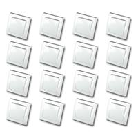 DELPHI 16er Set Wechsel-Schalter weiß 250V~/ 10A