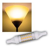 R7s LED Slim-Leuchtstab | 78mm | warmweiß | 490lm | 5W