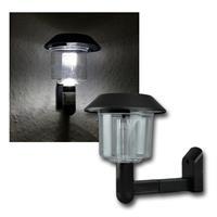LED Solar-Wandleuchte, Kunststoff, 90x130mm