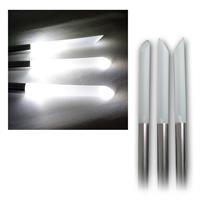 3er Pack LED Solar-Gartenleuchten70cm, Ø2cm