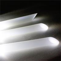 Außenstehleuchte Solar mit 2 lichtstarken LED