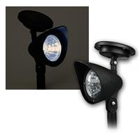 """Solar LED Leuchte mit Erdspieß """"SL-300"""" IP44, Spot"""