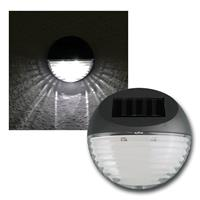 Solar LED Leuchte, Zaunmontage, IP44, Außenleuchte