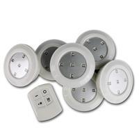 6er Set LED Downlights mit Fernbedienung erweiterbar bis auf 24 Leuchten