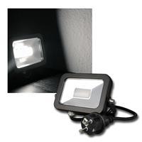 "LED Fluter ""CTF-SL10B"" daylight 780lm, 10W, IP44"