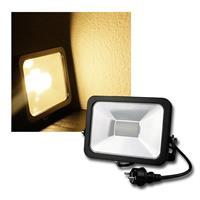 """LED Fluter """"CTF-SL30B"""" warmweiß 2200lm, 30W, IP44"""