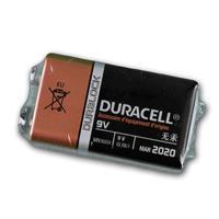 Duracell OEM-9V Alkaline-Batterie, MX1604 / 6LR61