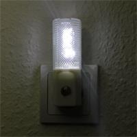LED Lampe Steckdosenlicht mit 3 kalt weißen LEDs