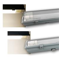 LED Feuchtraumleuchte IP65 18/36/22/44W 1,2/1,5m