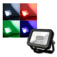 """LED-Fluter """"CTF-SL10W RGB"""" Fernbedienung IP44 RGB"""