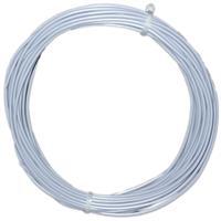 10m Litze flexibel grau 0,5mm² - Ø2mm