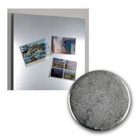 Neodymiummagnet-Set 8 Stück 12x1,5mm mit Klebeseit