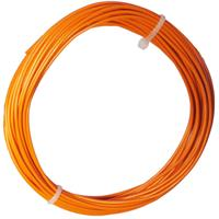 10m Litze flexibel orange 0,5mm² - Ø2mm