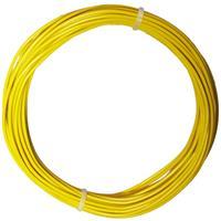 10m Litze flexibel gelb 0,5mm² - Ø2mm
