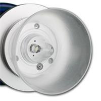 LED Öllampe dimmbar mit einer kalt-weißen LED zum An- und Auspusten