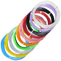 100m braid flexible 10 colors 2.0mm/0.5mm²