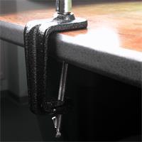 Tischlupe 2-fach Vergrößerung Befestigung mittels Klemme