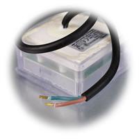 Befahrbarer LED-Bodenstrahler im Pflasterstein-Look