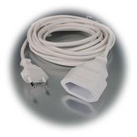 Kabel mit Eurostecker und Eurokupplung in flache Bauweise