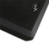 Ultraflache 2-Wege-Lautsprecher in schwarz/ weiß oder silber