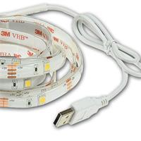 flexibler LED Streifen mit USB Anschluss für Fernseher oder Netzteil