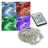 RGB LED Stripe USB with InLine controller, 2m