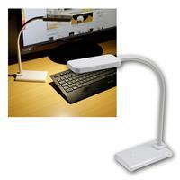 """Schreibtisch Leuchte LED """"CT-TL 10"""" 200lm weiß"""