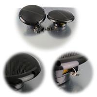 Wetterfeste Lautsprecher in schwarz oder weiß